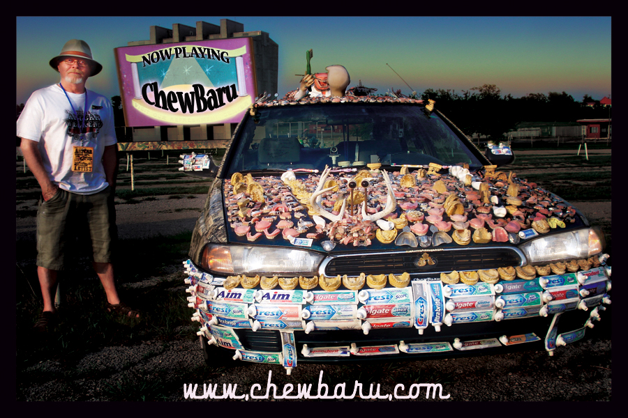 Art Car Covered in Dentures - ChewBaru